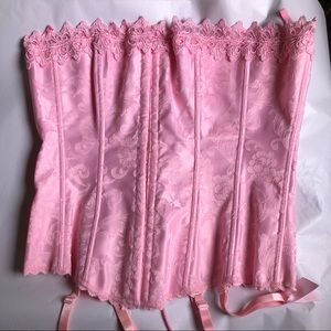 Frederick's of Hollywood Baby Pink Dream Corset